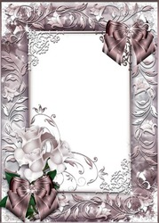 Mini Photo frame - Beautiful roses