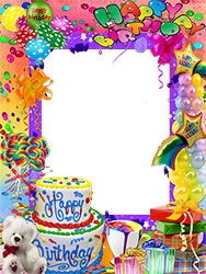 Mini Photo frame - Birthday party accessories