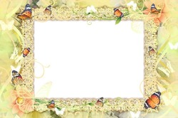 Mini Photo frame - Dancing butterflies