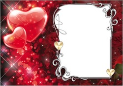 Mini Photo frame - Declaration of love