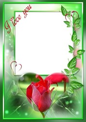 Mini Photo frame - Declaration of love on Valentine's day