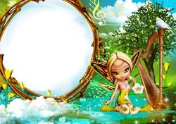 Mini Photo frame - Elvish tale