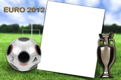Mini Photo frame - Euro 2012 - football holiday