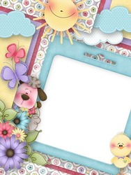 Mini Photo frame - For little babies