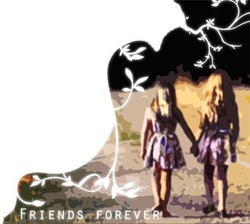 Mini Photo frame - Friends forever
