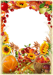 Mini Photo frame - Gifts of Autumn