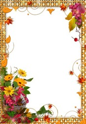 Mini Photo frame - Golden autumn