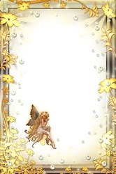 Mini Photo frame - Golden fairy