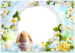 Mini Photo frame - Have yourself a hoppy and happy Easter