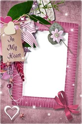 Mini Photo frame - In my heart