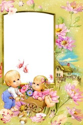 Mini Photo frame - Lovely kids