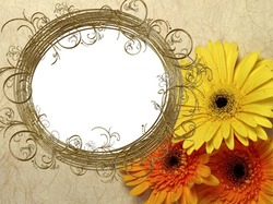 Mini Photo frame - Magic circle