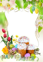 Mini Photo frame - Magic of Easter morning