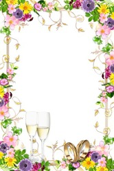 Mini Photo frame - Magnificient summer wedding