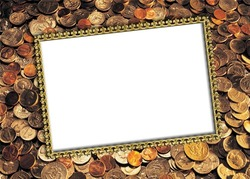 Mini Photo frame - Money is money