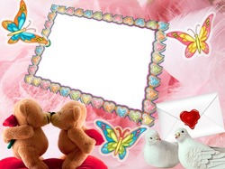 Mini Photo frame - My love