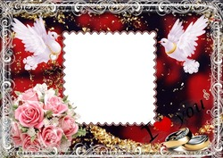 Mini Photo frame - My wedding