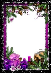 Mini Photo frame - New year's shine