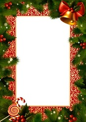 Mini Photo frame - New year 2012