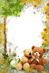 Mini Photo frame - Remarkable Teddy bears