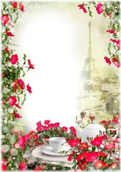 Mini Photo frame - Romantic date in Paris