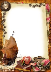 Mini Photo frame - Sails of forgotten ships