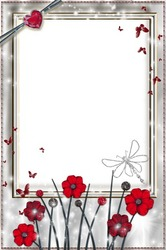 Mini Photo frame - Silver light