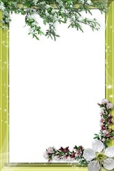 Mini Photo frame - Spring for two