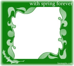 Mini Photo frame - Spring forever