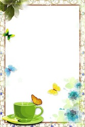 Mini Photo frame - Spring romantic