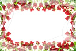 Mini Photo frame - Surrounded by roses
