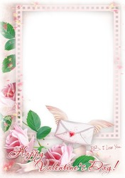 Mini Photo frame - Gentle Valentine's card