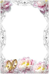 Mini Photo frame - Tender wedding frame