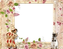 Mini Photo frame - The circus