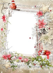 Mini Photo frame - The approach of the Christmas spirit