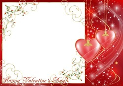 Mini Photo frame - Valentine's day