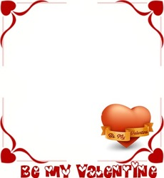 Mini Photo frame - Would you be my Valentine
