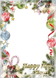 Mini Photo frame - New year is coming