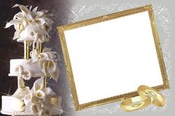 Mini Photo frame - Wedding frame