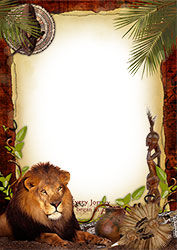 Mini Photo frame - Welcome to Africa