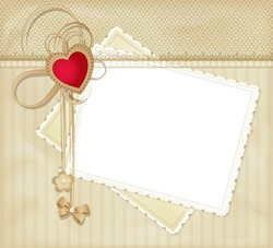 Mini Photo frame - Will you be my Valentine?