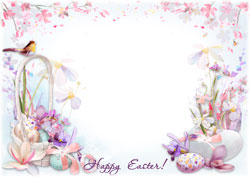 Mini Photo frame - Wishing you a great Easter
