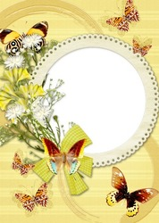 Mini Photo frame - Yellow mood