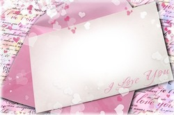 Mini Photo frame - Your valentine's card
