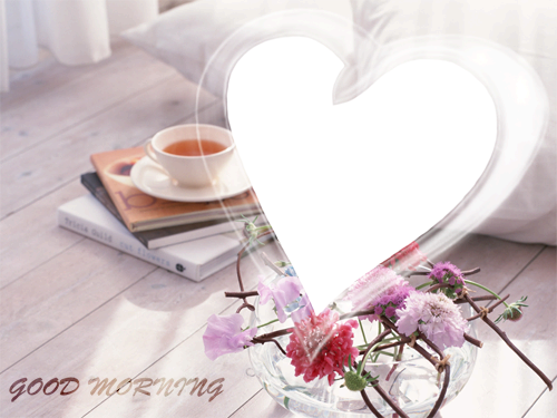 Photo frame - Good morning to you