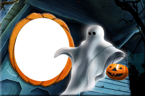 Photo frame - Halloween Ghost