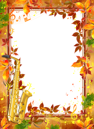 Photo frame - Autumn Melody