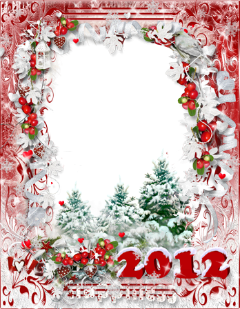 Photo frame - Happiness 2012
