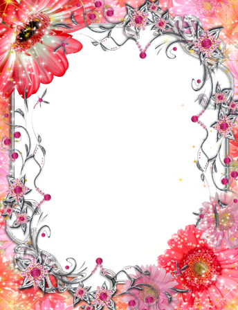 Photo frame - Beautiful Red Flowers