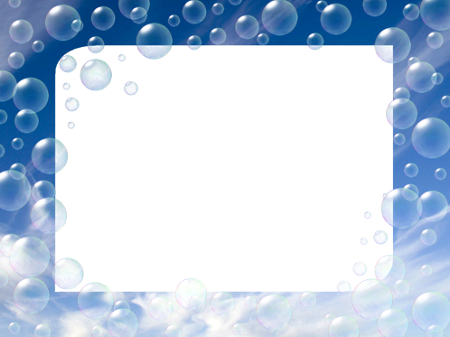 Photo frame - Air bubbles